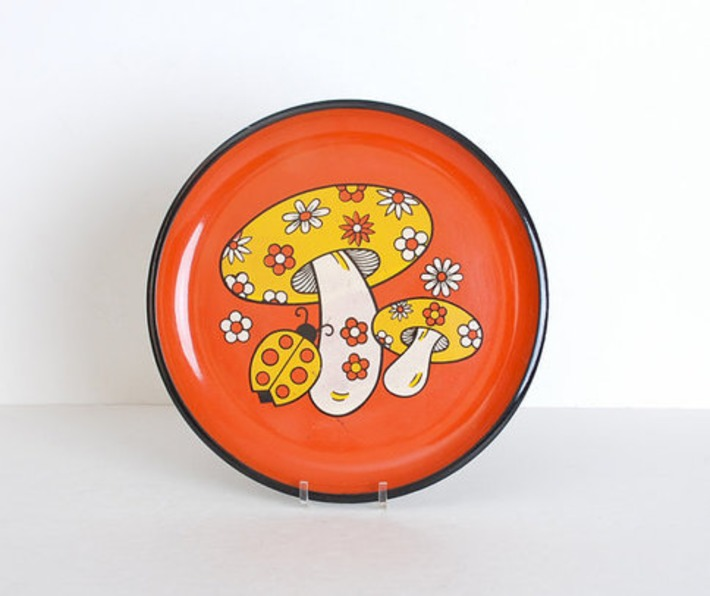 Vintage 60s Serving Tray | Kitsch | Scoop.it