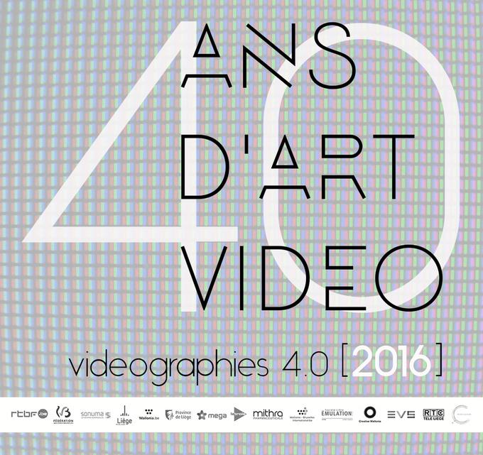 Vidéographies 40 ans d'art vidéo / frères Dardenne, Bill Viola, Jacques Charlier, Jean-Claude Riga...