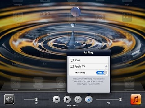 iPad Tip: Mirroring the iPad to Apple TV   idevices for special needs   Scoop.it