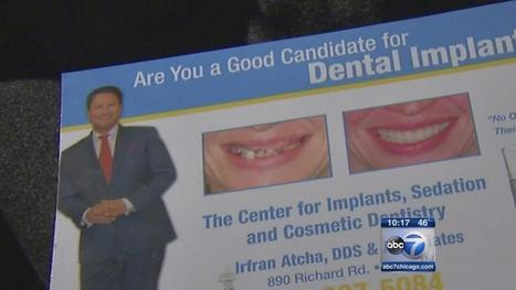 Dental implant patients accuse dentist of shoddy work - WLS-TV | Dental Implants | Scoop.it