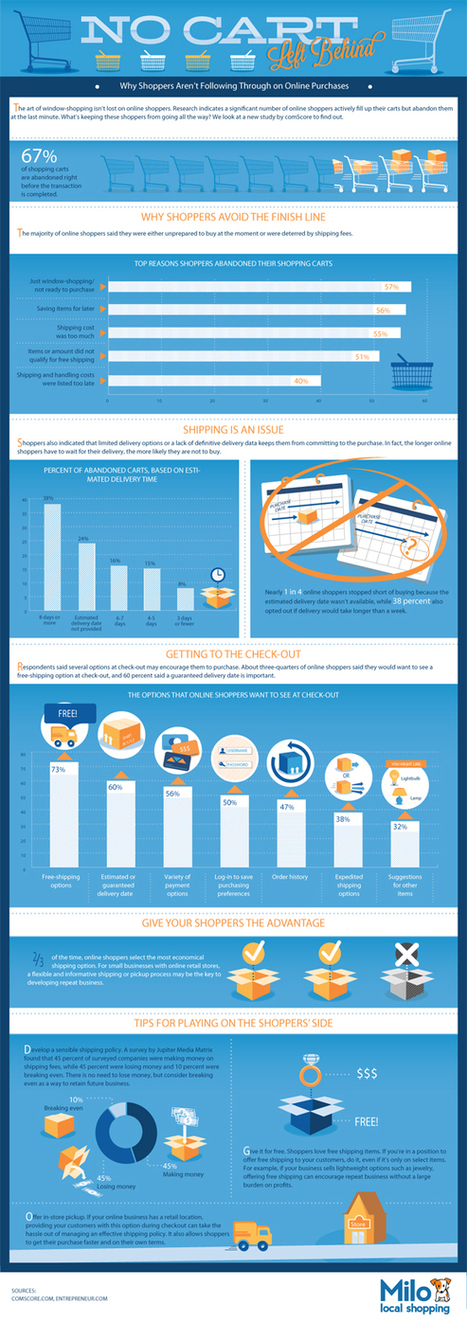 Shopping Cart Abandonment Stats [Infographic] | Get Elastic Ecommerce Blog | E-commerce Trends | Scoop.it
