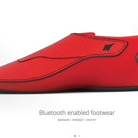 Smart shoes guide runners and the blind with vibrations | Regenerating IT | Scoop.it