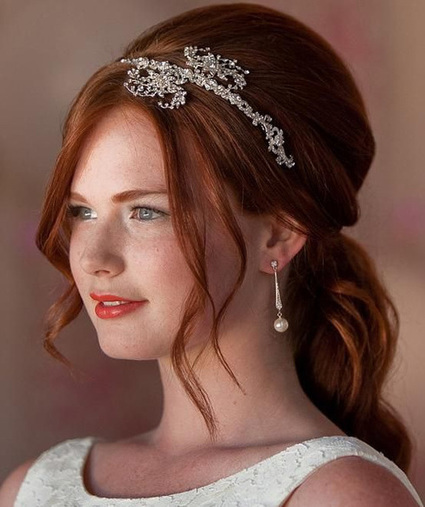 Top Wedding Hairstyles for Long hair | Live Style Vogue | Hot Fashion | Scoop.it
