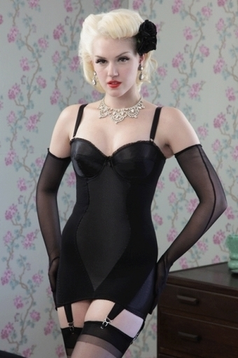 Glamour Corselette by What Katie Did in Girdles and Shapewear | Vulbus Incognita Magazine | Scoop.it