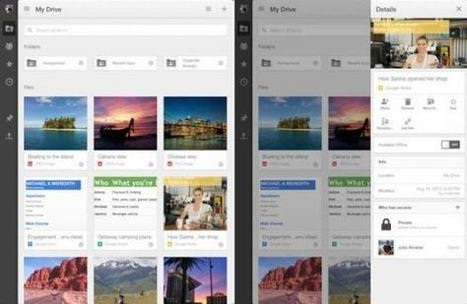Google Drive sur iOS change de look - Tablette Tactile   Ecommerce Prestashop et bonne pratique   Scoop.it