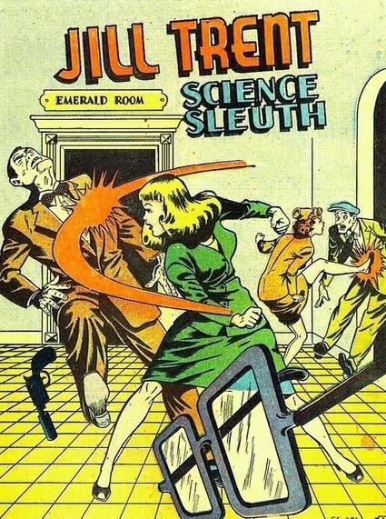 Les femmes ne s'intéressent pas aux comics, elles les ont aussi créés   Biblio-thèques   Scoop.it