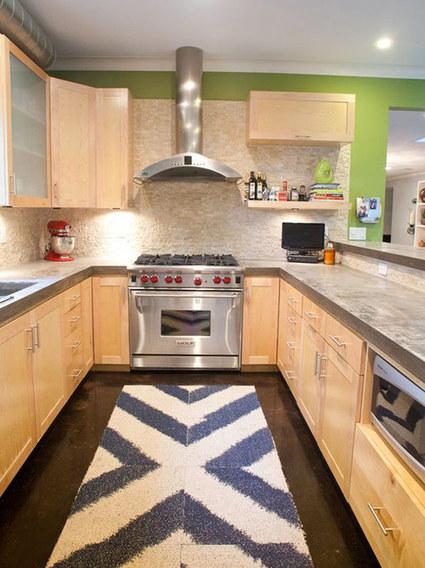Giữ ấm cúng trong phòng bếp hiện đại | Noi that | Scoop.it