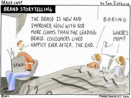Brands And Story Telling: Branding Strategy Insider | Just Story It | Scoop.it