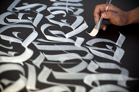 Meet An Artist Who's Mastered The Painstaking Art Of Calligraphy | Artdictive Habits : Sustainable Lifestyle | Scoop.it