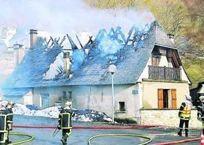 Bordères-Louron. Une maison détruite par le feu - La Dépêche | Vallée d'Aure - Pyrénées | Scoop.it