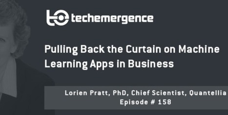 Pulling Back the Curtain on #MachineLearning Apps in #Business | Decision Intelligence | Scoop.it