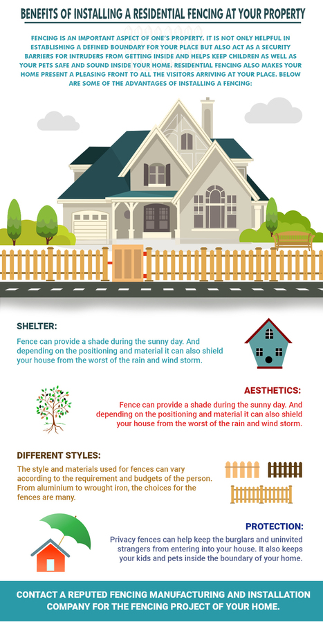 Fence Styles and Designs for Backyard-Front Yard | Aruvil International Inc | Scoop.it