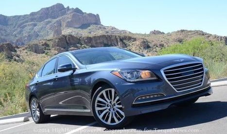 The 2015 Hyundai Genesis Challenges for the Ultimate Driving Machine Title - Torque News | HUB Hyundai Houston | Scoop.it