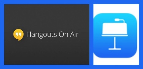 How do I to share Keynote in Google Hangouts on Air? | Google Hangouts on Air | Scoop.it