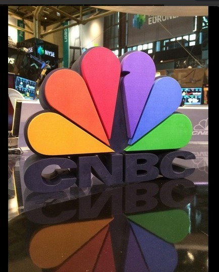 CNBC Has Logo 3D Printed by Shapeways' Designer Ryan Kittleson | #Technology | Scoop.it