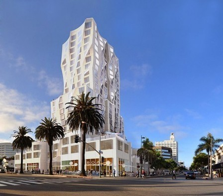 [Santa Monica, California] Gehry Designs Mixed-Use Tower for Downtown | The Architecture of the City | Scoop.it