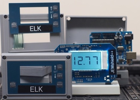 LCD, Keypad, Enclosure Expansion Arduino Shield (video) - Geeky Gadgets   Raspberry Pi   Scoop.it