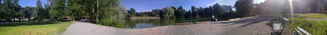 Sorsapuisto park and pond panorama. Lovely sunny evening. #Tampere | Finland | Scoop.it