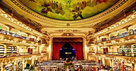 Sur le point d'être démoli, ce théâtre centenaire a été transformé en une somptueuse librairie | Bibliothèques et Cie | Scoop.it