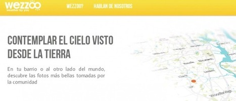 El tiempo personalizado, social y hecho para ti con Wezzoo | Weather By You | Scoop.it