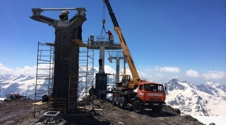 Russia Builds Europe's Highest Ski Lift | First Tracks!! Online Ski Magazine | superheroes of stoke | Scoop.it