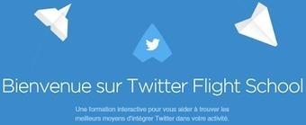 Twitter Flight School est maintenant accessible à tous les professionnels !   Info Magazine   Scoop.it