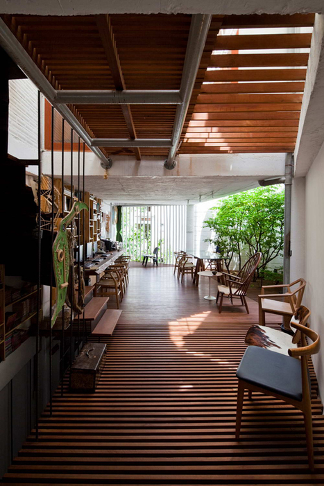A Beautiful Illuminated House by a21Studio, from Hochiminh, Vietnam   The Architecture of the City   Scoop.it