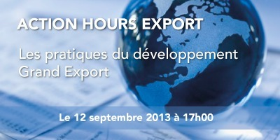 Action hours export : Les pratiques du développement Grand Export le jeudi 12 septembre dès 17h. à La Cantine Toulouse | La Cantine Toulouse | Scoop.it