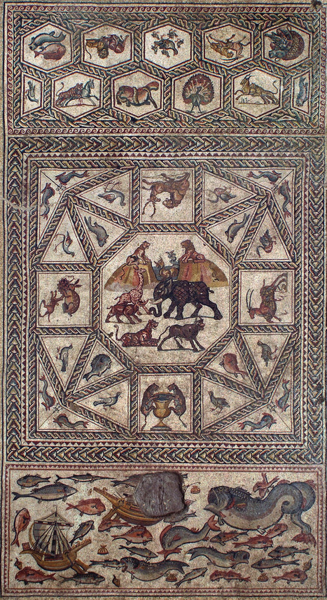 1700-Year-Old Mosaic Unearthed in Israel - Hyperallergic | News in Conservation | Scoop.it