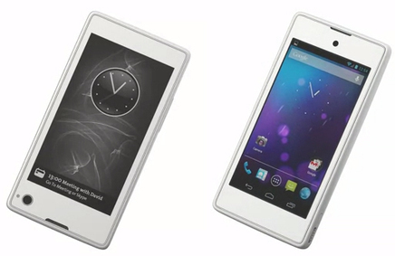 Dual-screen YotaPhone.. offers 4.3-inch LCD and e-ink displays | Mobile IT | Scoop.it