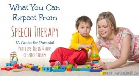 What You Can Expect From Speech Therapy {A Guide for Parents} Part Five: The Ins and Outs of Speech Therapy | Speech-Language Pathology | Scoop.it