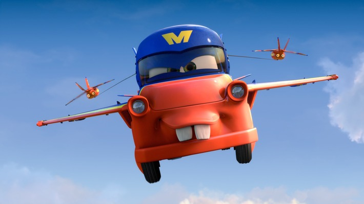 """New Cars Toon """" Air Mater """" – Full Version, and in 3D ! 