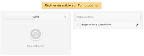 Pomotodo, gagner du temps en gérant ses tâches selon la méthode Pomodoro | boite à outils numérique pour le tourisme | Scoop.it