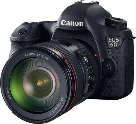 Canon 6D : petit frère du 5D MKIII | Photo-graphie | Scoop.it