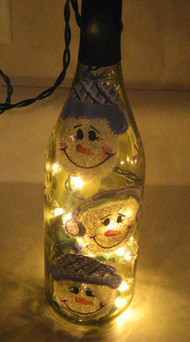 How to Make a Wine Bottle Lamp Wine bottle lamps... - Austin Junk Removal Blog - Dirty Work | Upcycling & Recycling | Scoop.it