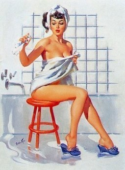 The Vintage Pin Up Art of Joyce Ballantyne (1918 – 2006) | Busty Boobs Babes | Scoop.it