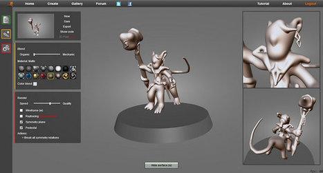 Skimlab : modélisation 3D avancée en WebGL - Actualité sur 3DVF.com.   Social market place   Scoop.it