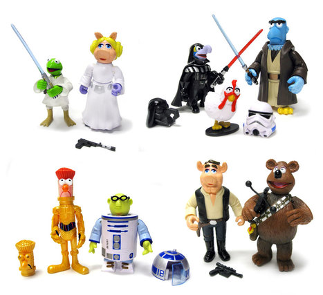 New Star Wars Muppets Figures from Disney | All Geeks | Scoop.it
