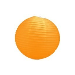Boule papier 30cm Orange   boules japonaises   Scoop.it