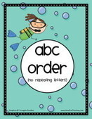 Alphabetical Order Activities | Have Fun Teaching | Word Study | Scoop.it