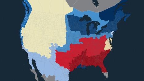 Les 11 nations américaines | Études sociales | Scoop.it