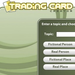 Trading Card Creator: Create Trading Cards To Help Kids Demonstrate Knowledge | Technology Resources for K-12 Education | Scoop.it