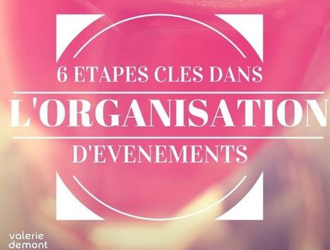 6 étapes clé dans l'organisation des événements | Bien communiquer | Scoop.it