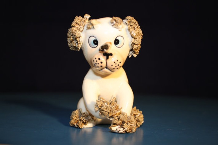 Looking for a good home. Lefton Dog Spaghetti With fly on nose AS-IS | Kitsch | Scoop.it