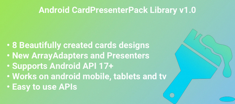 Buy Android Mobile CardPresenters Frameworks / Libraries | Chupamobile.com | android source code | Scoop.it