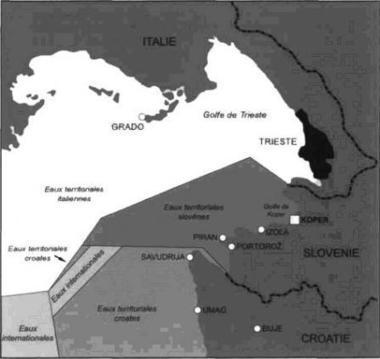 Le problème de la délimitation des frontières slovéno-croates dans le golfe de Piran (Balkanologie) | Géographie des Balkans | Scoop.it