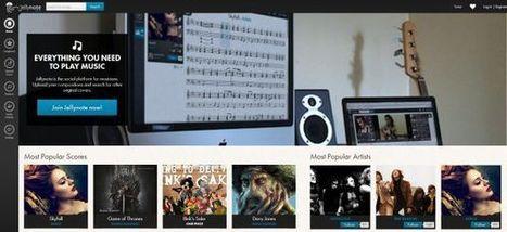 JellyNote, portal de partituras de temas musicales   Música   Scoop.it