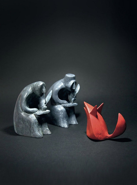 The Brothers Grimm in Three Transcendent Dimensions: Shaun Tan's Breathtaking Sculptural Illustrations for the Beloved Tales | Learning Commons & Maker Spaces | Scoop.it