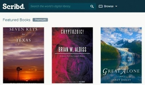 Upload, Search And Read E-Books Or Share Presentations At Scribd | PowerPoint Presentation | e-books | Scoop.it