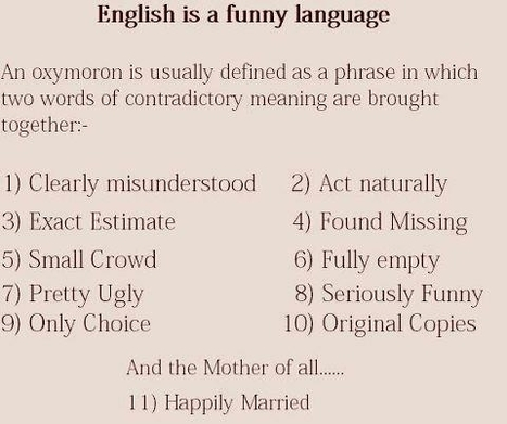 English is a Funny Language   A Sense of the Ridiculous   Scoop.it